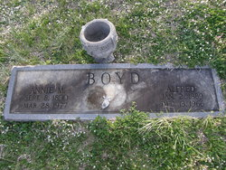 Annie <I>Marsh</I> Boyd