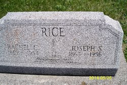 Rachel E. <I>Clampitt</I> Rice
