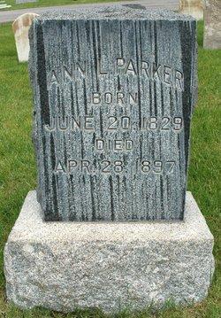 Ann <I>Lewis</I> Parker