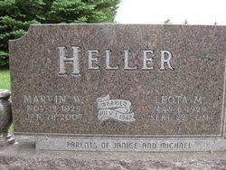 Leota Margaret <I>Roe</I> Heller