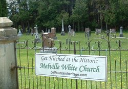 Melville White Church Cemetery