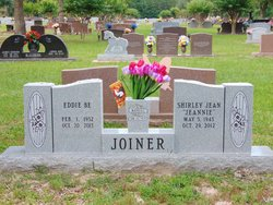 """Shirley Jean """"Jeannie"""" <I>Williams</I> Joiner"""