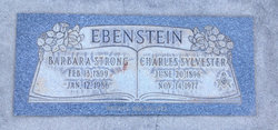 Barbara Florence <I>Strong</I> Ebenstein