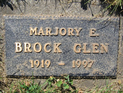 Marjory E. <I>Brock</I> Glen