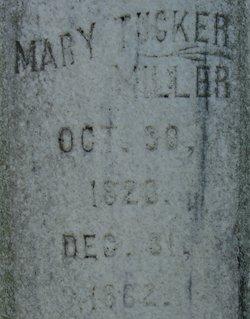 Mary Tucker <I>Moreland</I> Miller