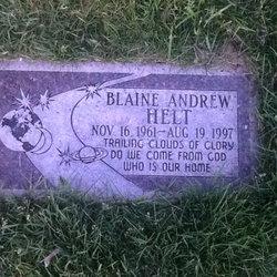 Blaine Andrew Helt