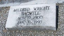 Mildred <I>Wright</I> Bagwell