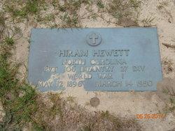 Hiram Hewett