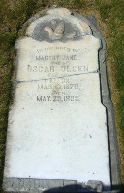 "Martha Jane ""Marthy"" <I>Spencer</I> Olsen"