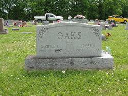 Myrtle D. <I>Stone</I> Oaks
