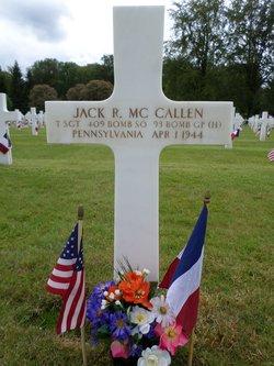 TSGT Jack Richard McCallen