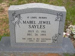 Mabel Jewel Sayles