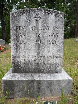 Rev G. Sayles