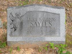 Laura B. <I>Cobbins</I> Sayles