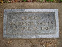Deacon Anderson Sayles