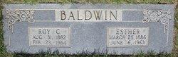 Esther <I>Beadle</I> Baldwin