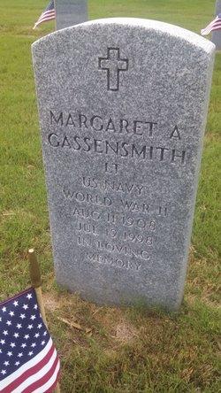 Margaret A Gassensmith