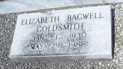 Elizabeth <I>Bagwell</I> Goldsmith