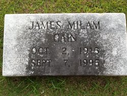 James Milam Cain, Sr