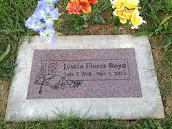 Josefa <I>Flores</I> Boyd