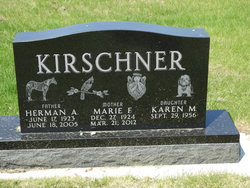 Marie Florence <I>Anderson</I> Kirschner