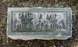Garnet Rosmond Baird