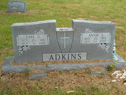 Annie Laura <I>Kirby</I> Adkins