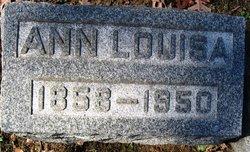 Ann Louisa <I>Watkins</I> Lewis