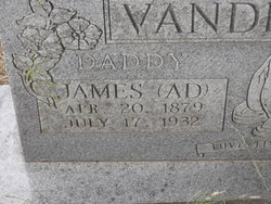 "James Adam ""Ad"" Vanderburg"