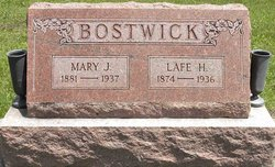 Mary Jane <I>Taylor</I> Bostwick