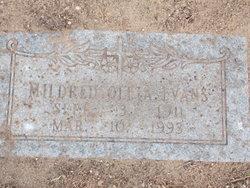 Mildred Oleta <I>Bumpass</I> Evans
