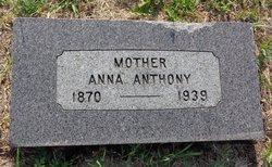 Anna Bell <I>Walter</I> Anthony