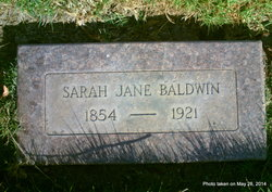 Sarah Jane Baldwin