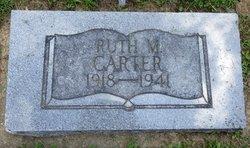 Ruth Maxine <I>Talkington</I> Carter