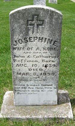 Josephine <I>Hoffman</I> Kohl