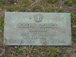 PFC Joseph Zorick