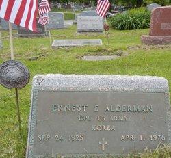 Corp Earnest E Alderman
