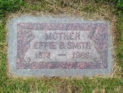 Effie Olive <I>Burns</I> Smith