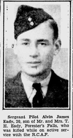 Flight Sergeant ( Pilot ) Irwin James Eady