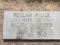 Beulah <I>Faulk</I> Danford