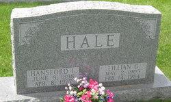 "Hansford Lee ""Hamp"" Hale"