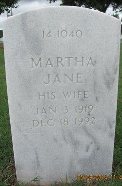 Martha Jane Gautney