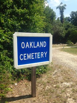 Oakland Cemetery African American