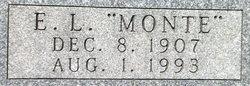 """Eldred Lamont """"Monte"""" Gann"""