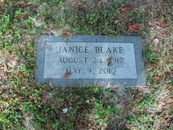 Janice <I>Sapp</I> Blake
