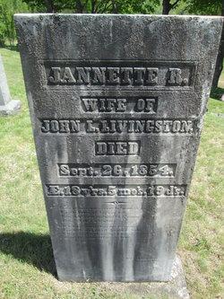Jannette R Livingston