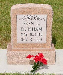 Fern L <I>Taylor</I> Dunham