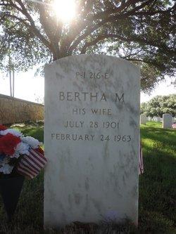 Bertha M Roberts