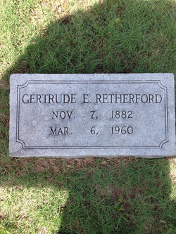 Emily Gertrude <I>Killian</I> Retherford