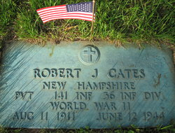 Pvt Robert J Cates